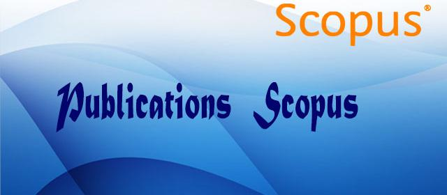 Publications Scopus depuis 1994